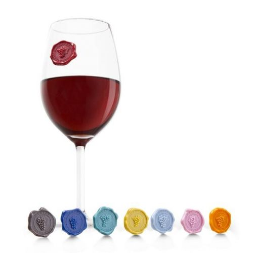 Pohárjelölő 8 db-os Classic szőlő