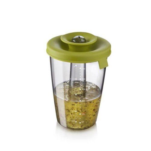 PopSome szósz és pác készítő edény 0,6L zöld