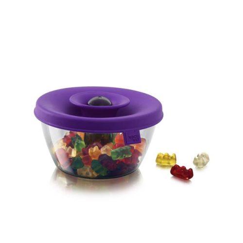 PopSome tároló-adagoló 0,5L lila