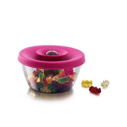 PopSome tároló-adagoló 0,5L pink